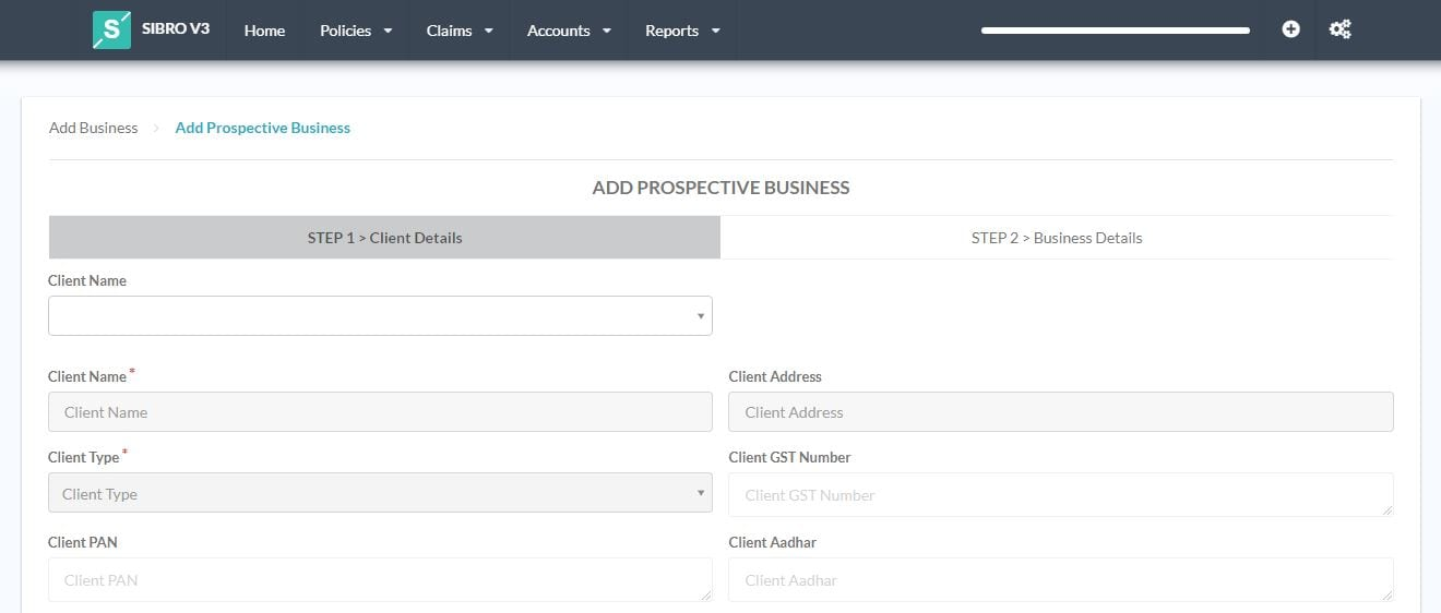 Record, Track, Manage and Accomplish your Insurance Broking Goals with Sibro Prospects Management Feature